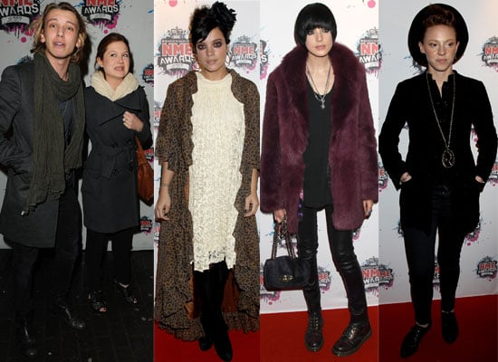 Photos from the NME Awards 2010 Including Bonnie Wright, Jamie Campbell Bower, The Mighty Boosh, Kasabian, Agyness Deyn