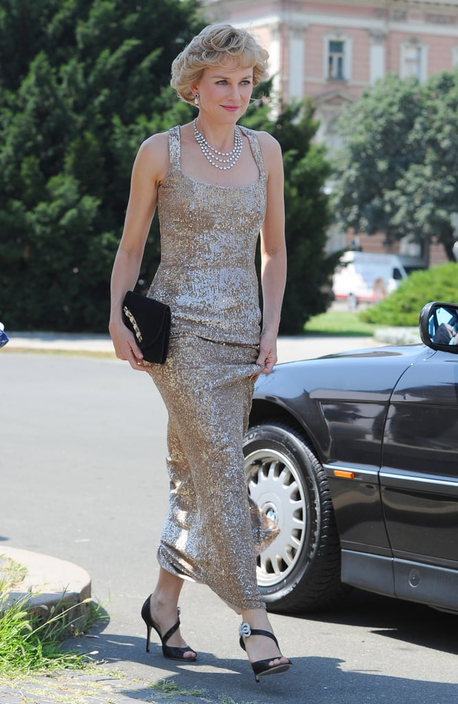 Naomi Watts posed as Princess Diana for a new movie role.