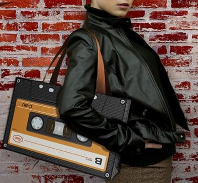 Love It or Leave It? Retro Cassette Bag