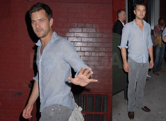 Photos of Joshua Jackson at The Art of Elysium at the Milk Gallery in NYC