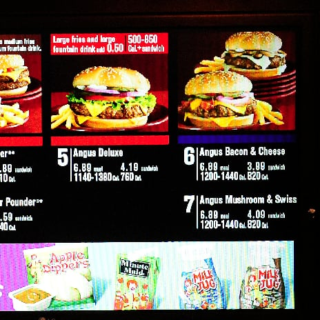 Fast-Food Calorie Counts Don't Help, Study Finds