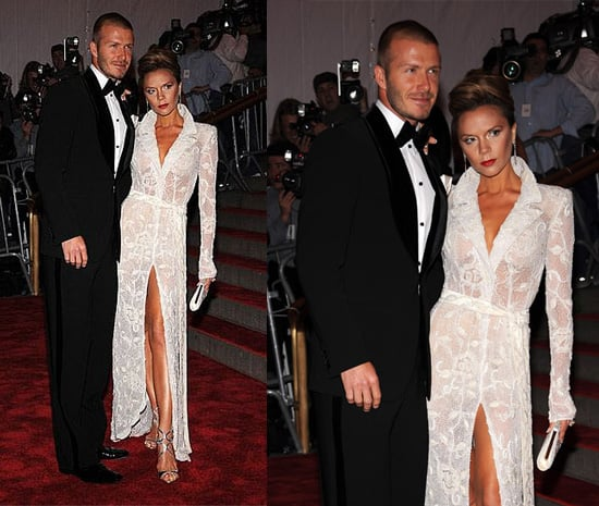 Met Costume Institute Gala: David and Victoria Beckham