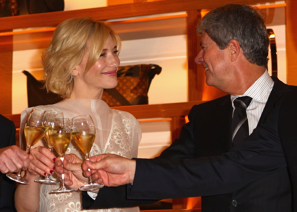 Cate Blanchett and Yves Carcelle