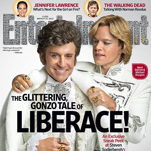 Matt Damon and Michael Douglas Entertainment Weekly Cover