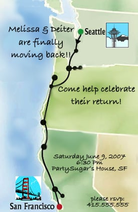 Come Party With Me: Welcome Back - Invites