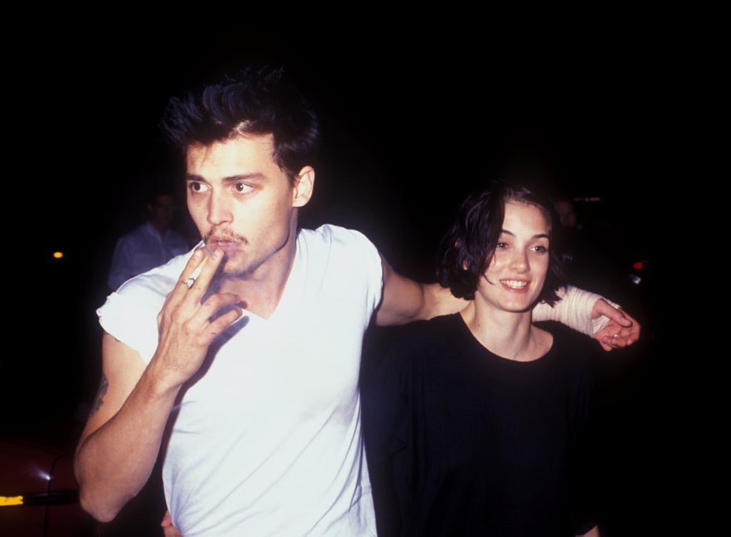 His offscreen relationship with Winona convinced you he was a romantic.