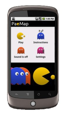 PacMap Pac-Man Android App
