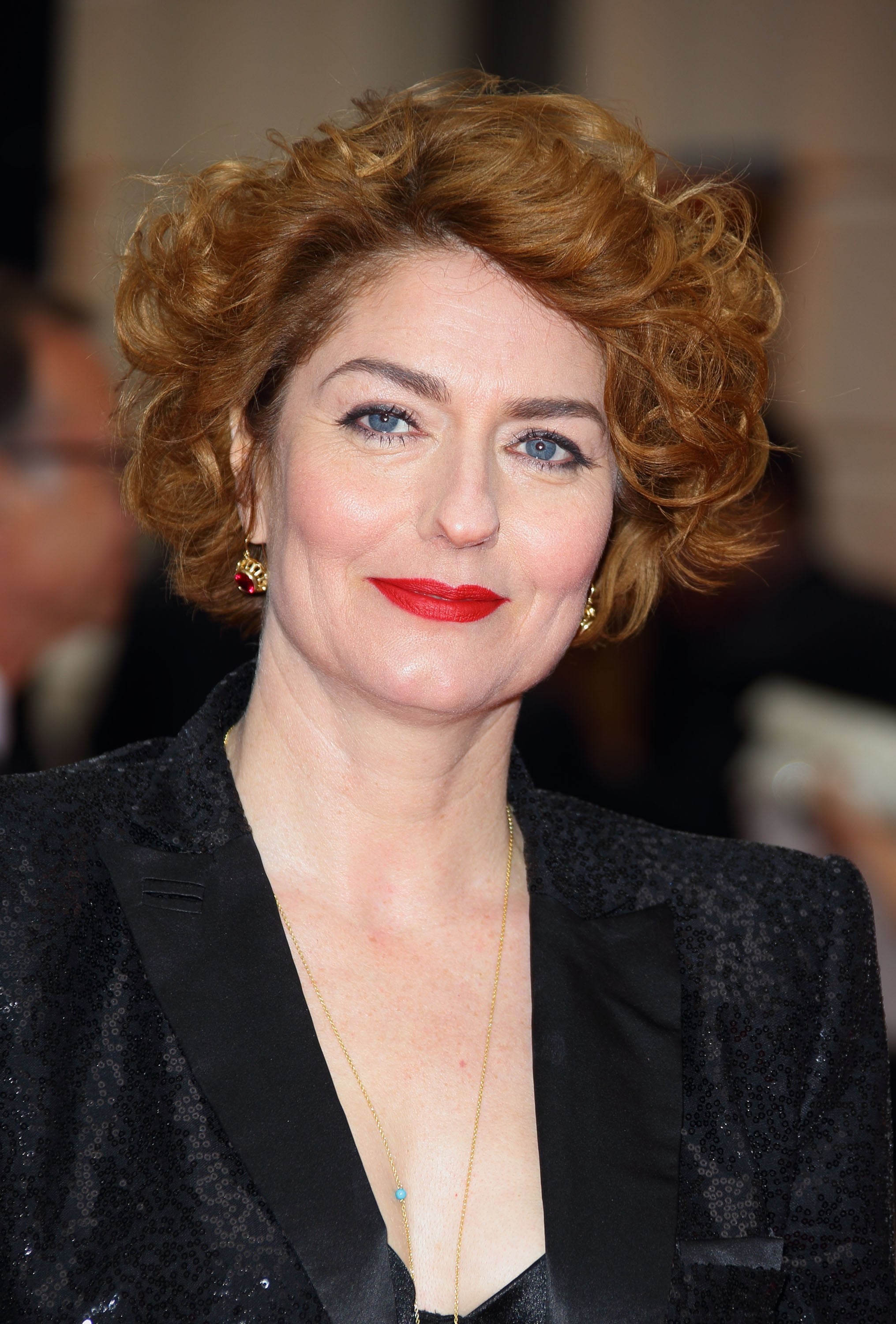 Anna Chancellor Who Had The Best Beauty Look At The The