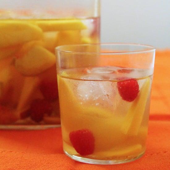 Mango-Orange White Sangria