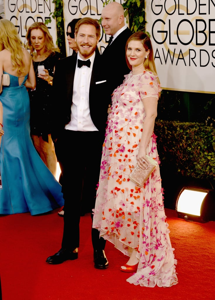 She posed with her husband, Will Kopelman, ahead of the show.