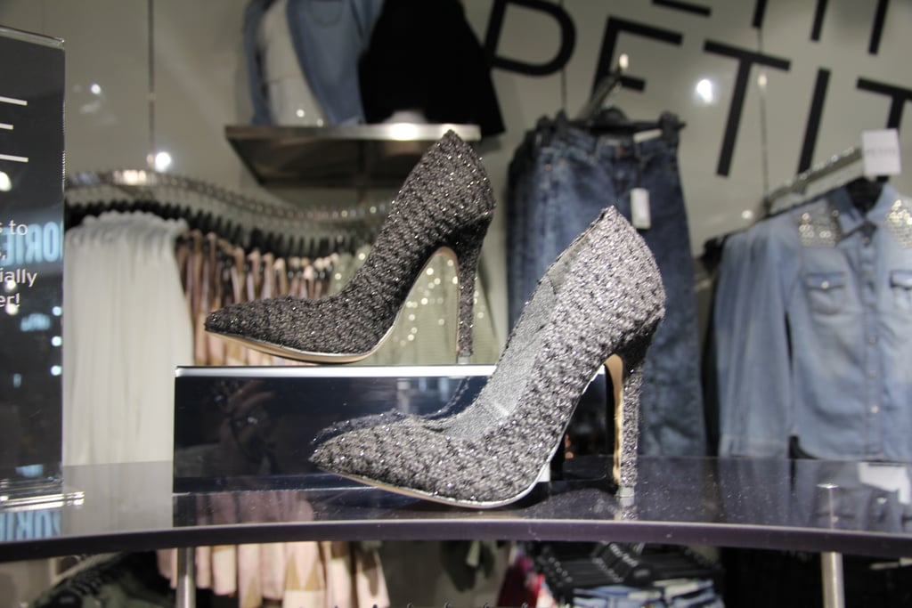 These eyelash-flecked tweed pumps took our fancy....