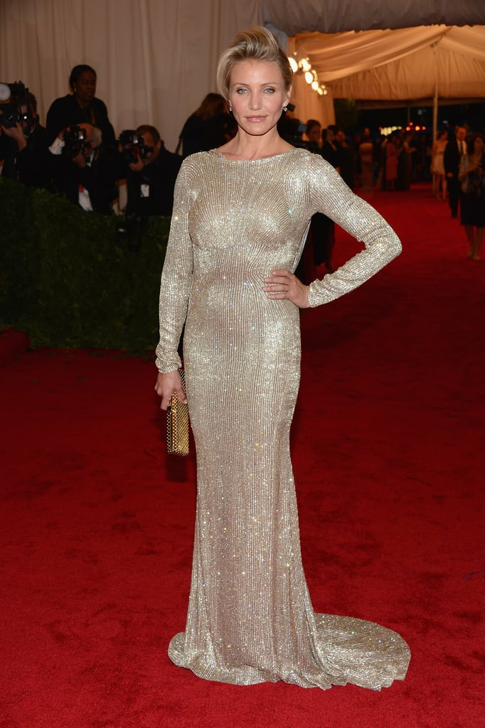 Cameron Diaz sparkled in a Stella McCartney.