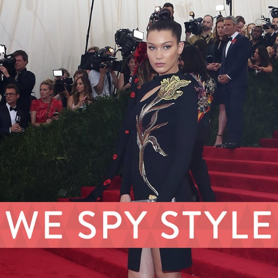 Bella Hadid and Celebs Give Fashion Advice at Met Gala 2015