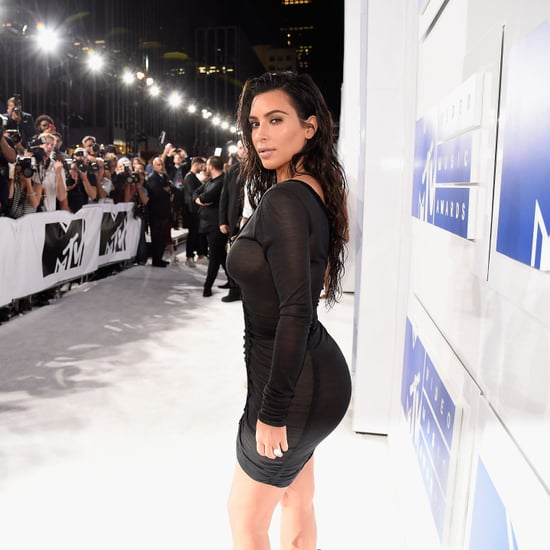 Kim Kardashian's Dress at VMAs 2016