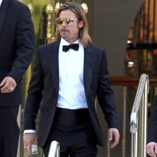 Brad Pitt at Eden Roc Hotel in Cannes Pictures