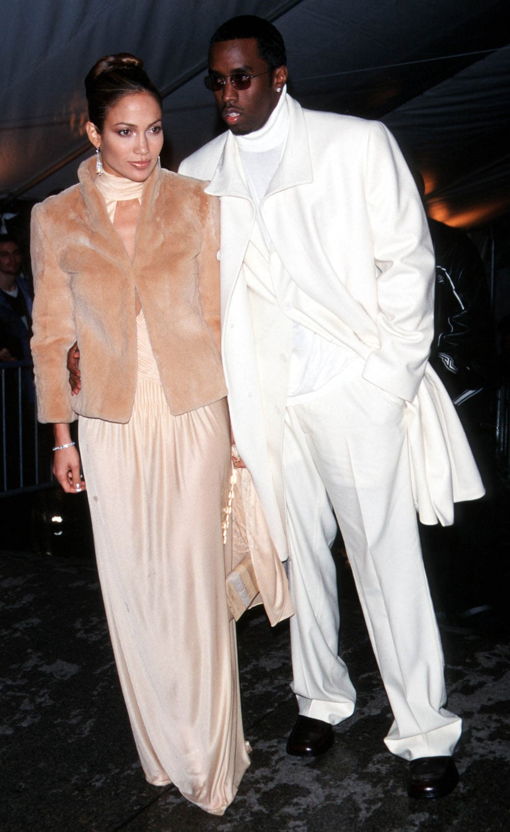 Jennifer Lopez and Sean Combs — 1999