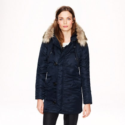 With the Sundance Film Festival just around the corner, I'm on the lookout for a chic new Winter coat. J.Crew's military parka ($350) fits the bill; it's sporty but stylish and will keep me warm from the movie screenings to the parties.  — Becky Kirsch, entertainment director