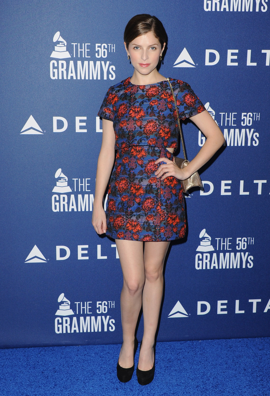 Anna Kendrick at Delta's Grammy Weekend Reception