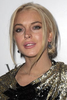 Pictures of Lindsay Lohan's Plump Lips