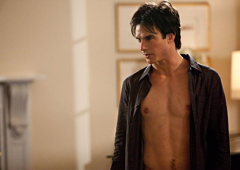 Quando Damon è riuscito a costringere noi senza la sua magia vampiro