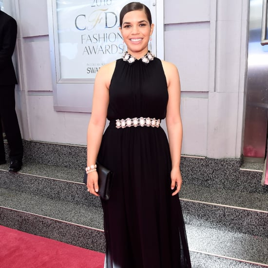 America Ferrera's Kate Spade Dress at the CFDA Awards 2016