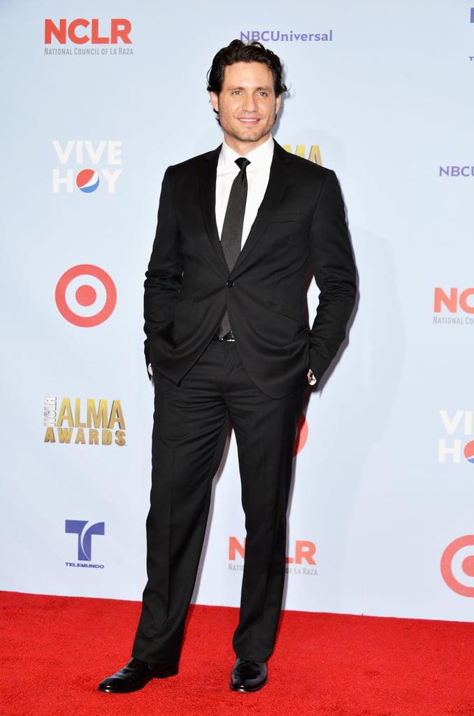 Edgar Ramirez hit the red carpet for the ALMA Awards in LA.