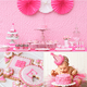 A Super-Girlie First Birthday Party