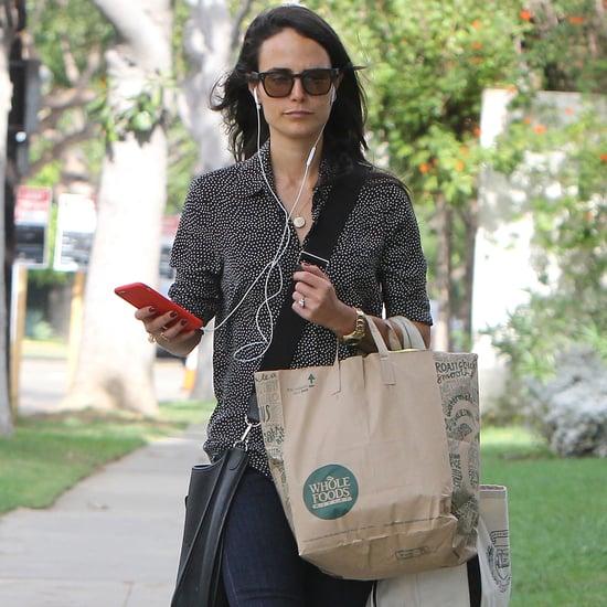 Jordana Brewster Carries Whole Foods Groceries
