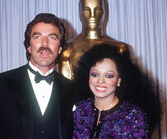 Tom Selleck and Diana Ross, 1985