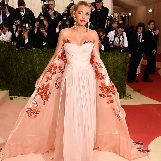 Blake Lively's Burberry Dress at Met Gala 2016