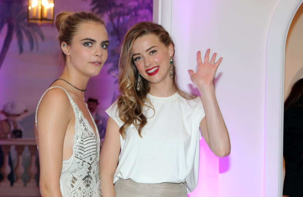 Amber waved with Cara.