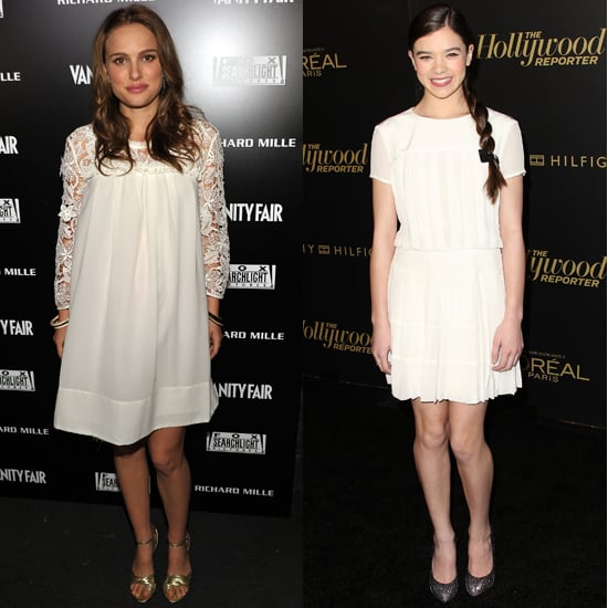 Inspired by Natalie Portman and Hailee Steinfeld, Fab Goes White Dress Shopping