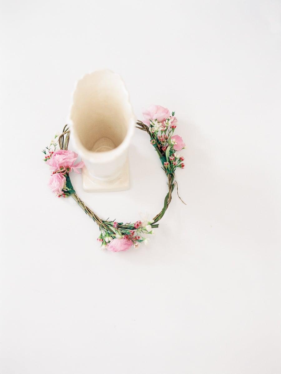 5. A Floral Headband