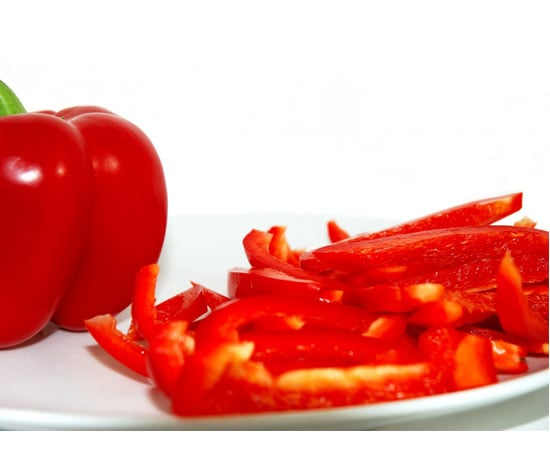 Bell Pepper Slivers