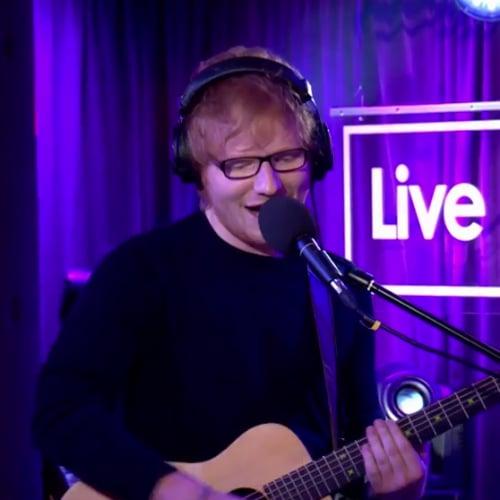 Video of Ed Sheeran Covering Christina Aguilera Song Dirrty