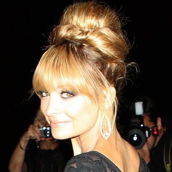 Nicole Richie Gets into the Swinging '60s Spirit at the Fifi Awards