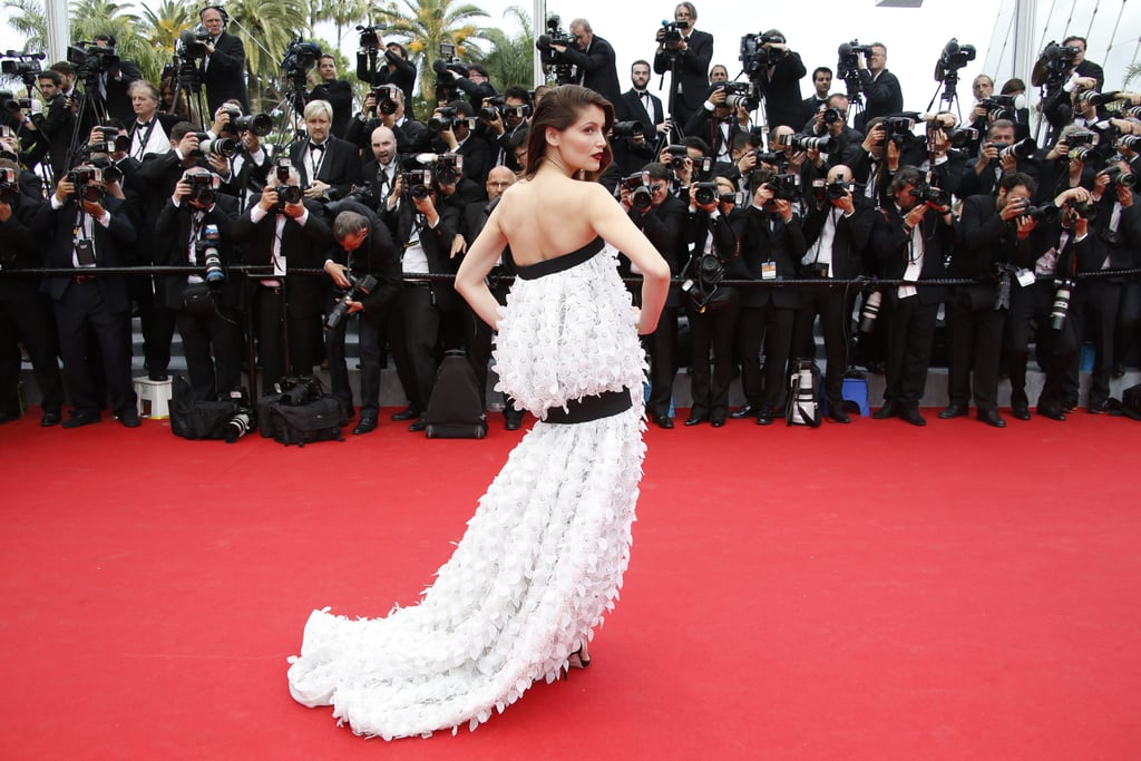 Laetitia Casta made waves at the Cannes opening ceremony.
