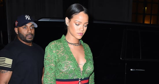 Rihanna Wore Only Gucci and Underwear