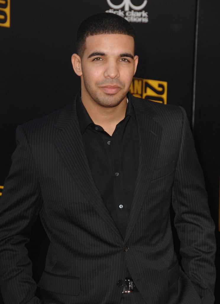 Drake looked dapper in a black-on-black ensemble in 2009.