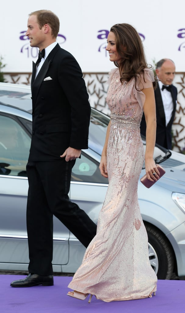 Prince William and Kate Middleton Dress Up For the Black Tie Ark Dinner!