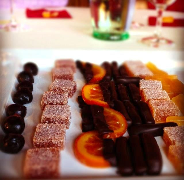 Candied Fruit and Wine Pairing