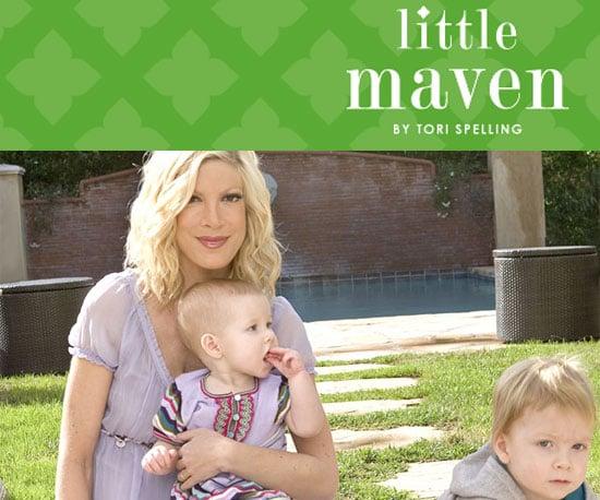 Tori Spelling's Kid Line Little Maven Available Online