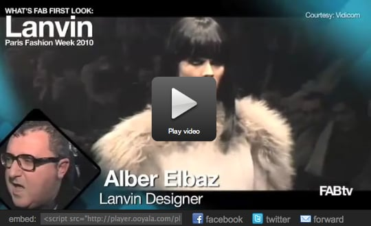 FabTV: Backstage at Lanvin With Alber Elbaz, Juliette Binoche, and Jared Leto