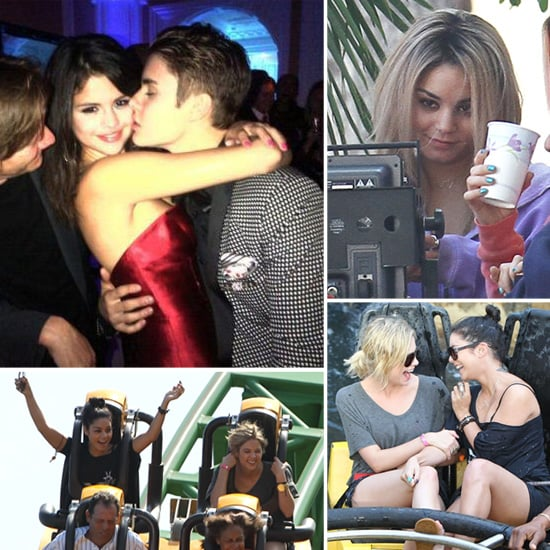 Vanessa Hudgens Goes Blond as Her Costar Selena Gomez Makes Out With Bieber
