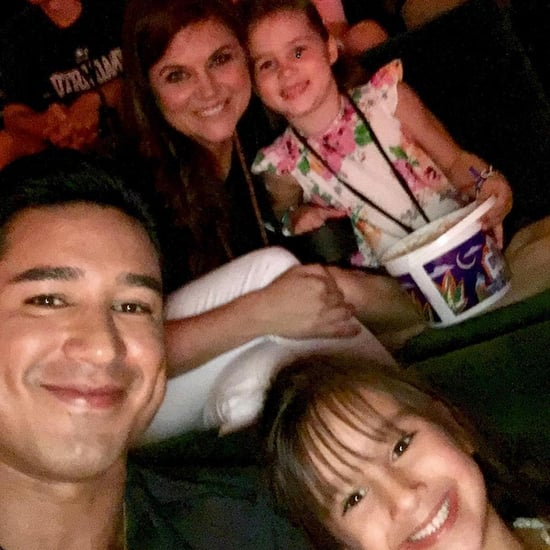 Time Out! Former Saved by the Bell Costars Mario Lopez and Tiffani Thiessen Have a Mini Reunion - with Their Daughters!