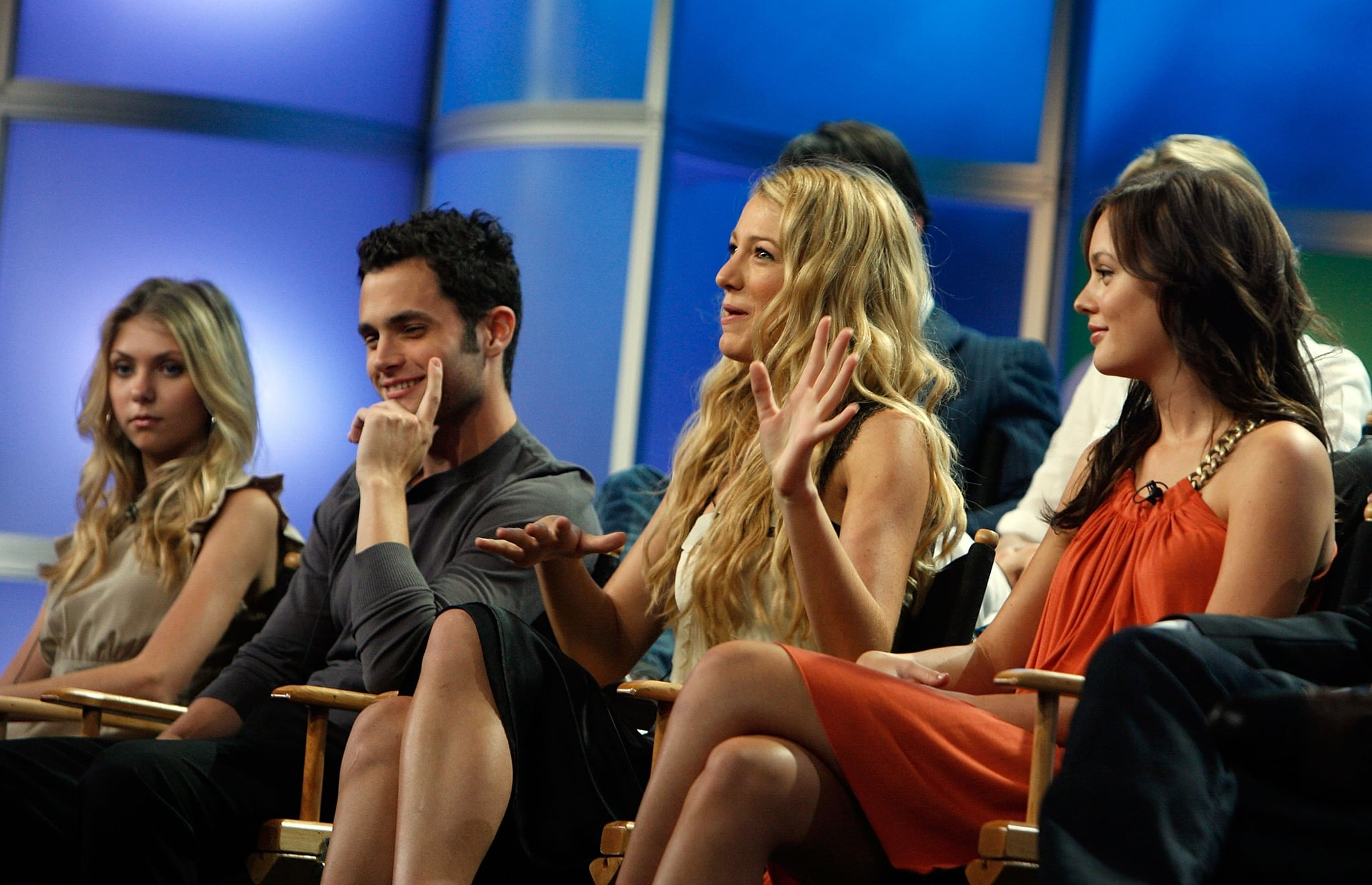 Blake Lively addressed an audience on entertainment reports in LA during a July 2007 TCA event.