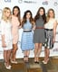 The ladies of Pretty Little Liars — Ashley Benson, Shay Mitchell, Lucy Hale, Troian Bellisario, and Sasha Pieterse — huddled for a group photo.
