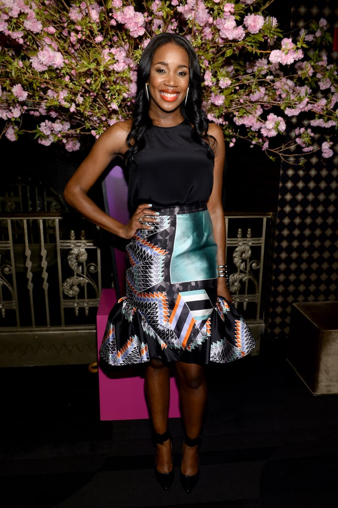 JaKissa Taylor-Semple at the fourth annual Elle Women in Music Celebration in New York.