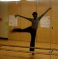 "Ballerina Dances to ""Soulja Boy"""