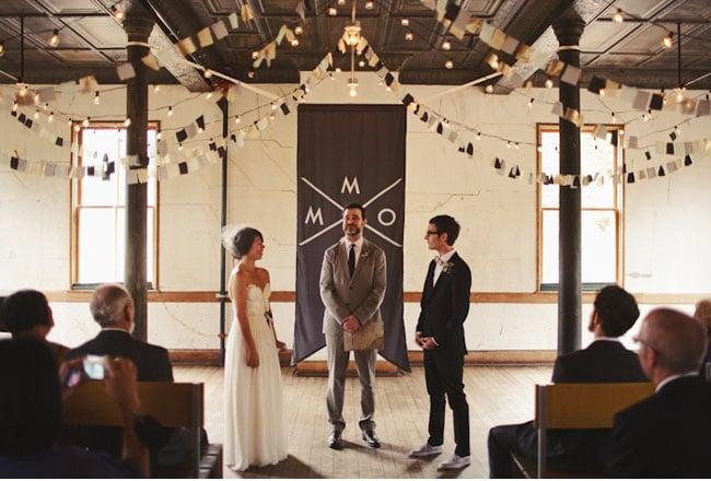 As a Ceremony Backdrop